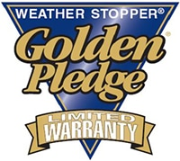 roof warranty, gaf weather stopper golden pledge