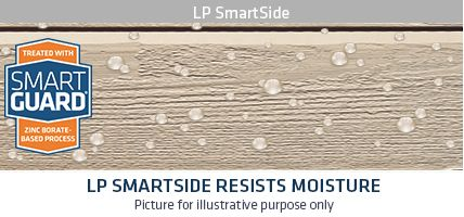 lp moisture - Home Exterior Siding