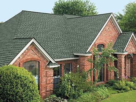 A roof replaced in Prosper, TX