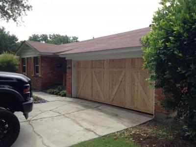Garage Door Before a Replacement