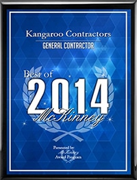 best of mckinney 2014 - Carrollton, TX Roofing Contractor