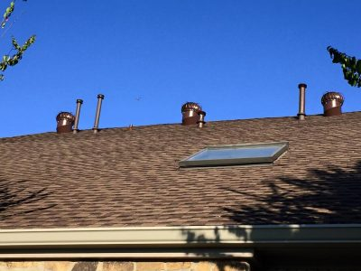 "More attic ventilation and larger 6"" seamless gutters"