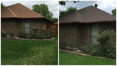 New Roof Color before and after Change
