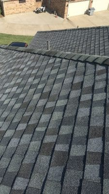 installed roof
