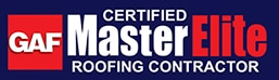 GAF certified master elite roofing contractor seal
