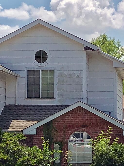 exterior house painting before - Painting