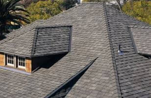 McKinney Roof showing shingles and new roof