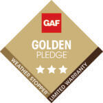 Golden Pledge Warranty Logo