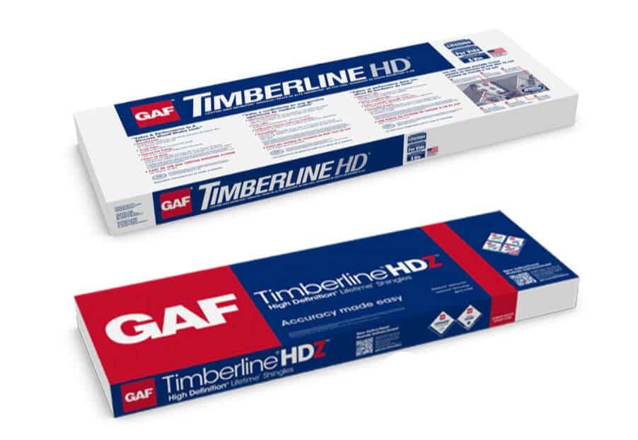 Timberline shingles updated